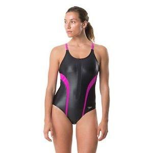 NWT Speedo 1 pc Siren Hydrovent Swim 14